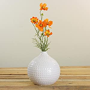 """28"""" Orange and Yellow Artificial Cosmos Inspired Floral Spray 2"""
