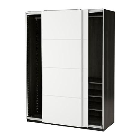 Ikea 10386.8268.148 - Armario, Color Negro y marrón: Amazon ...
