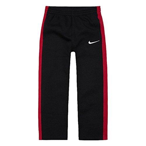 Nike Boys Core Fleece Pants (Black/Gym Red, 7)