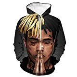 VOSTE Xxxtentacion Hoodie 3D Printed Hooded Pullover Sweatshirt Jacket T-Shirt (Medium, Color 15)