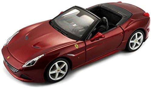 Bburago 1:24 Scale Ferrari Race and Play California T (Open top) Diecast Vehicle (Colors May Vary) (Bburago 1 24)