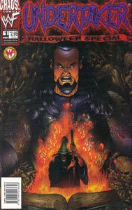 Undertaker #1 Illustrated Cover - Halloween Special - Chaos! Comics 1999 -