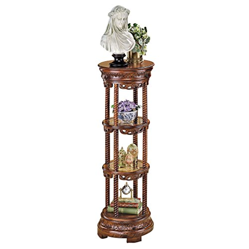 Plant Stand Etagere - Design Toscano The Venice Etagere Pedestal Plant Stand