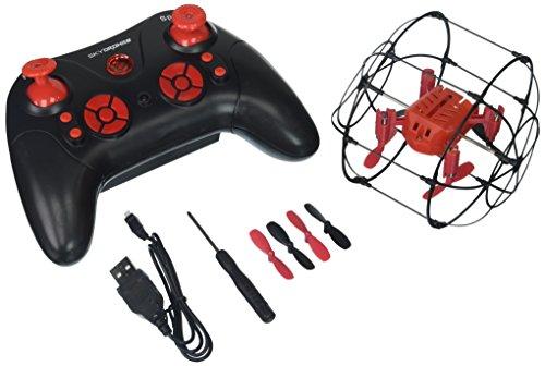 SkyDrones Quadpod 2.4 Ghz Nano Rollerball Quadcopter Drone