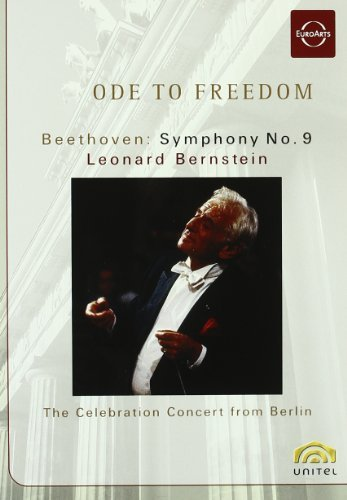 Ode To Freedom: Beethoven Symphony No. 9The Berlin Celebration Concert [DVD] [2006] by Leonard Bernstein B01I05KEL6