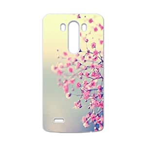 Pink Flowers Cell Phone Case for LG G3