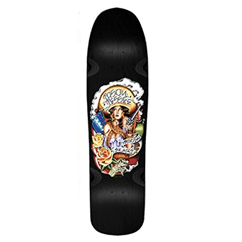 Suicidal Skates Jason Jessee Pool Black Old School Skateboard Deck - 9.25