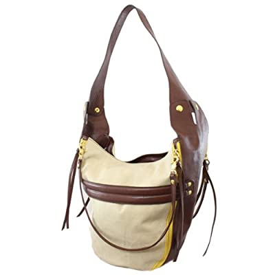 61142 Nila Anthony Leatherette shoulder bag (Chocolate)
