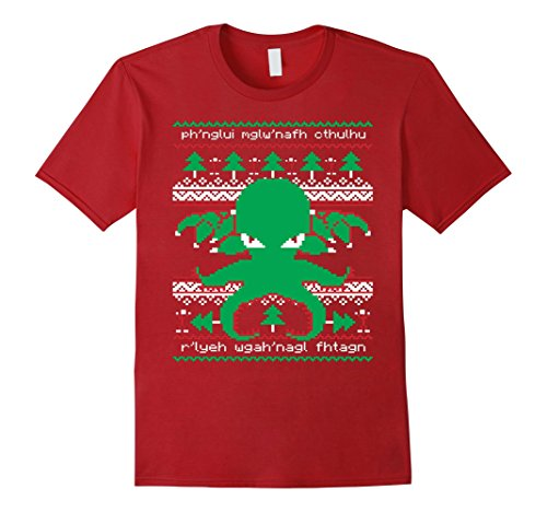 Men's Cthulhu Cultist Christmas - Cthulhu Ugly Christmas