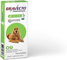 Bravecto Transdermal Cães, 10 até 20kg, 500mg Bravecto para Cães, 10 até 20kg