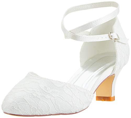 Mrs-White-00967A-Chaussures-de-Marie-Mariage-Escarpins-Pour-Femme-Ivoire