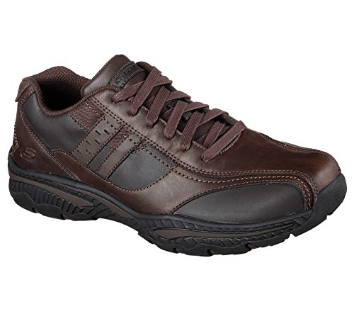 Skechers Décontracté Fit Creston Evato Homme Sneaker Oxfords Chocolat