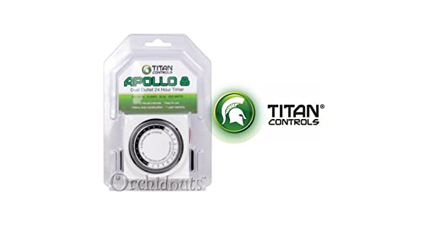 Amazon.com : Titan Controls Apollo 8 Timing Controller : Electrical Timers : Garden & Outdoor