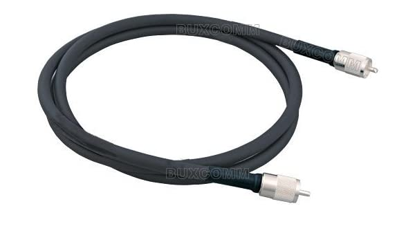 MPD Digital rg-213-pl-259-jumper-3ft parche Cable de baja pérdida RG-213/U super doble blindado Coax Cable con PL-259 Conectores: Amazon.es: Electrónica