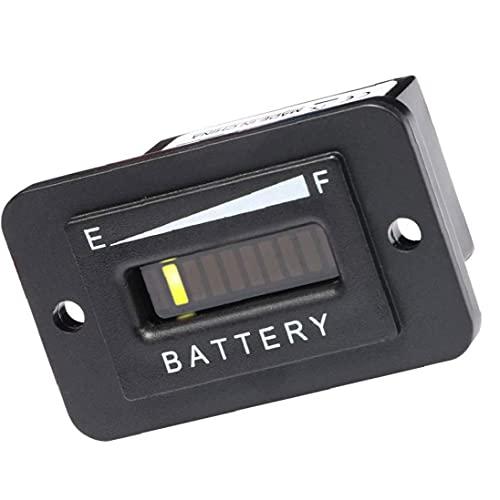 Elektriciteitsmeter Batterij Indicator Capaciteit Tester Meter Tester Checker voor 48V lood-zuur Batterij Motorfiets…