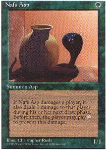 Magic: the Gathering - Nafs Asp - Fourth Edition for sale  Delivered anywhere in USA