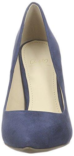 Another Pair of Shoes Pariz E1 - Zapatos de Tacón para Mujer Azul (Denim  Blue ... 09da47fcb43b