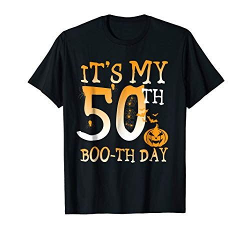 It'S My 50Th Boo-Th Day Birthday Shirt Halloween 50 Year Old ()