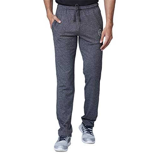 41iGN5iV4xL. SS500  - WAKE UP COMPETITION Solid Men's Cotton Blend Track Pant