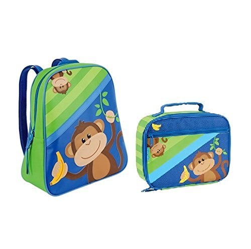 Lunch Box Bone (Stephen Joseph GoGo Backpack & Lunchbox (Monkey))
