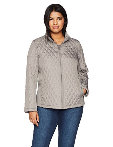 Weatherproof Womens Modern Quilted Jacket with Stretch