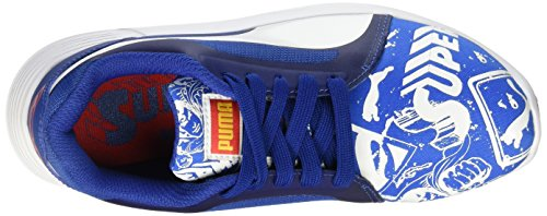 Azul Puma Royal Jr Para Evo St 01 White Zapatillas puma Superman Street Niñas puma Trainer zfzxrP