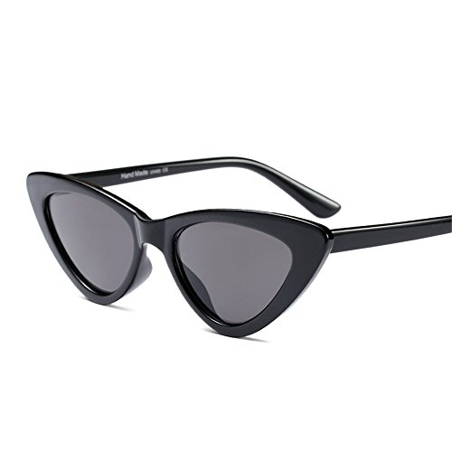 Women Small Cat Sunglasses Red Small Triangle Vintage Frame Brand Designer - Face Sunglasses Triangle