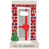 PERSONALIZED CHRISTMAS ORNAMENT NEW APARTMENT DOOR OUR 1ST APARTMENT
