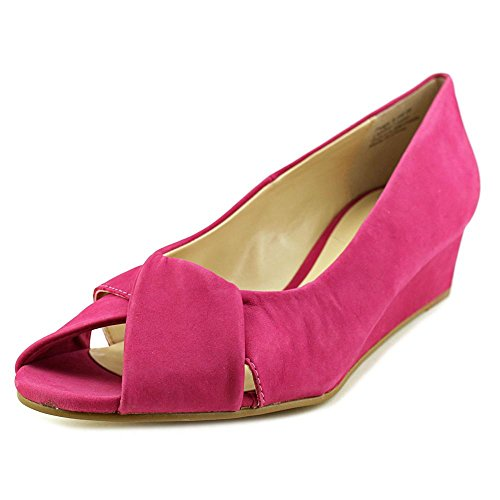 Ros Hommerson Women's Paige Peep-Toe Wedge Shoes