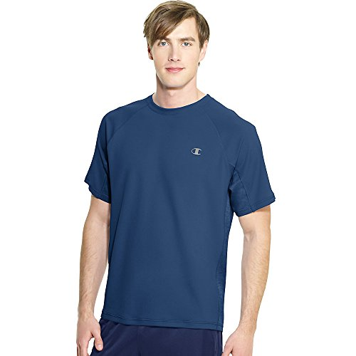 Champion Vapor®Short Sleeve Men's Tee_Seabottom Blue_L