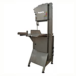 Heavy Duty Floor Model Meat & Bone Saw w/ 112-in blade, 2000-lb/1-Hr Production, 220/3V