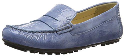 Geox D Leelyan B, Mocasines para Mujer Azul (DENIMC4008)