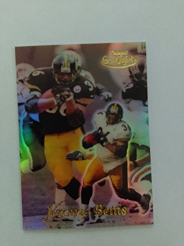 Jerome Bettis - 1999 Topps Gold Label Class 2 #8 - Pittsburgh Steelers / Notre Dame Fighting ()