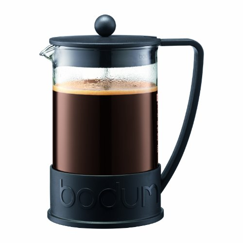 Bodum Brazil French Press Coffee Maker, 1.5 Liter, 51 Ounce, Black