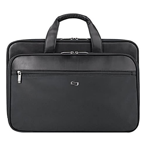 TableTop King SGB3004 Paramount 17 1//2 x 5 1//2 x 12 Black Classic Smart Strap Briefcase