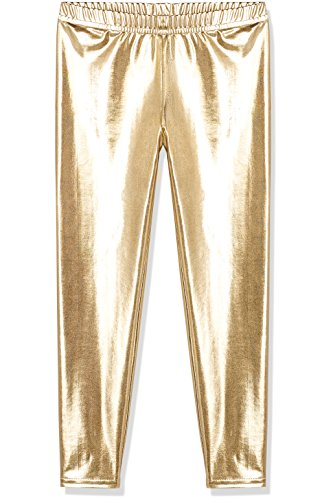 RED WAGON Leggings Metallic Dance Party Niña Dorado (Gold)