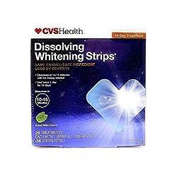 CVS Dissolving Whitening Strips (28 treatments, 56 strips: 1 upper & 1 lower strip)