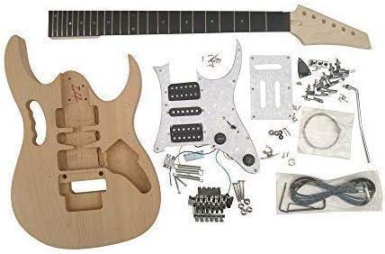 Guitarra Eléctrica DIY Kit Alderwood Cuerpo para Estudiante ...