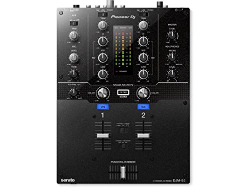 Pioneer DJ DJM-S3 2 Channel Mixer for Serato DJ ()