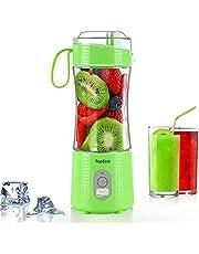 TOPESCT Draagbare Blender Mini Blenders voor Smoothies en Shakes, Persoonlijke Fruit Mixer Machine 13 oz USB Oplaadbare Juicer Cup, Zes 3D Blades voor Geweldig mengen