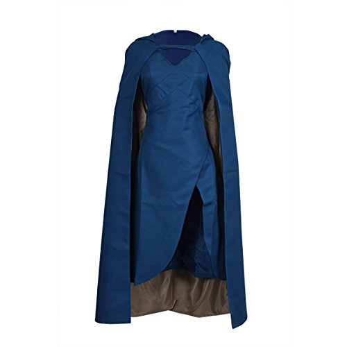 YBKJ Game of Thrones Dress Cosplay Costume Womens Top Design Cloak (X-Large)