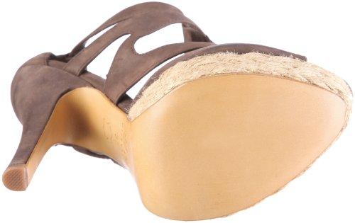 ESPRIT Collection BELKA T SANDAL R14551 - Sandalias de vestir de cuero nobuck para mujer Marrón
