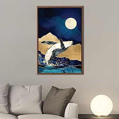 Framed Nordic Style Home Artwork for Living Room Bedroom