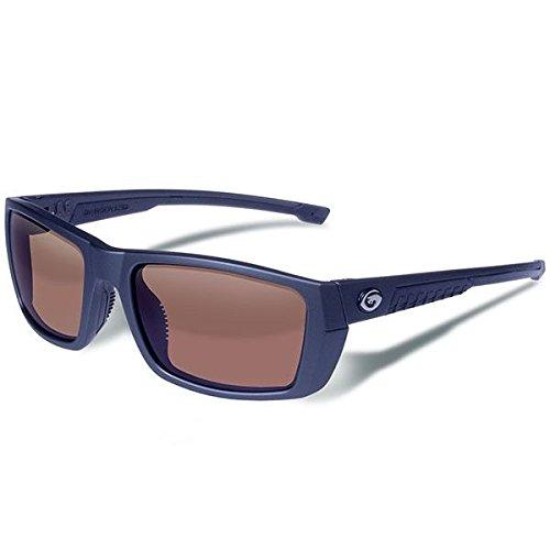 Gargoyles Eyewear Sunglasses - Gargoyles Performance Eyewear Siege Polarized Safety Glasses, Matte Graphite Frame/Brown with Silver Mirror Lenses