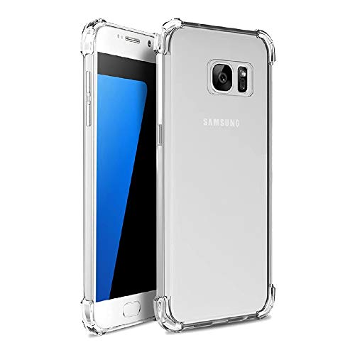 Amazon Brand   Solimo Back Cover for Samsung Galaxy S6   Transparent