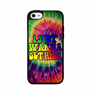 I Just Wanna Get High TPU RUBBER SILICONE Phone Case Back Cover iPhone 5 5s