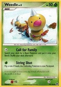 Pokemon - Weedle (93) - Great Encounters