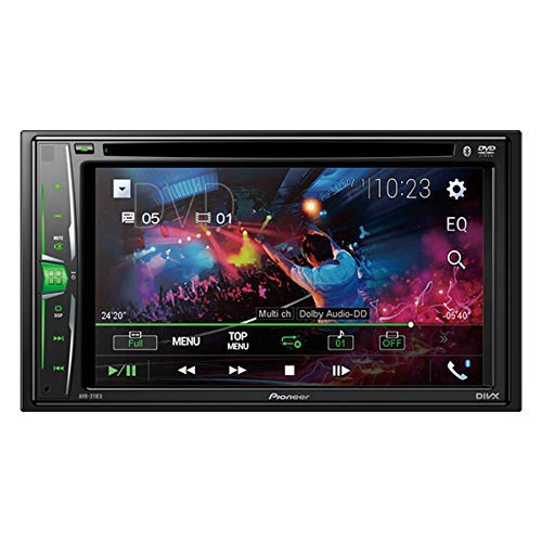 Pioneer AVH-211EX Multimedia Recevier with Bluetooth (Pioneer Remote Car Stereo)
