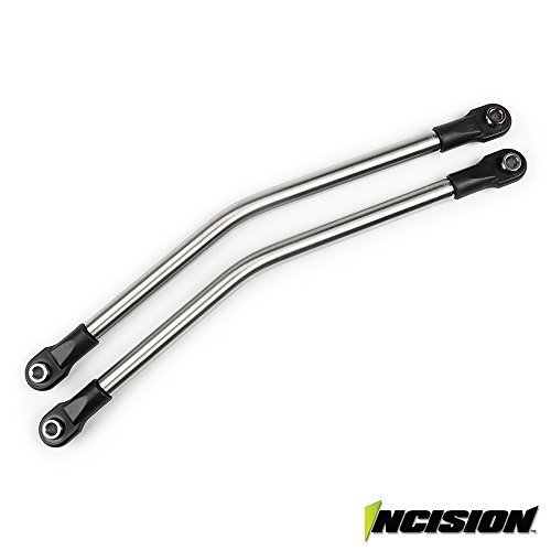 Vanquish Incision Yeti 1/4 Stainless Steel Rear Upper Suspension Link Kit Axial IRC00051