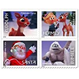 Rudolph the Red-Nosed Reindeer USPS Forever Stamps, Book of 20